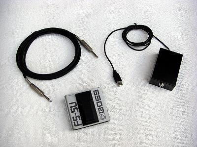 USBフットスイッチ 1穴仕様 完成品
