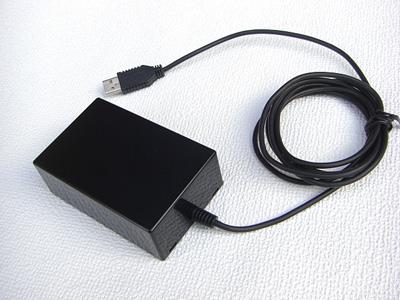 USBフットスイッチ 1穴仕様 本体背面
