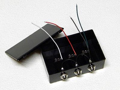 USBフットスイッチ 3穴仕様 未完成品