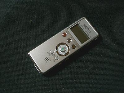 SANYO ICレコーダー ICR-PS004Mの画像