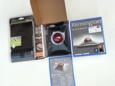 Kensington Slimblade Trackballを購入