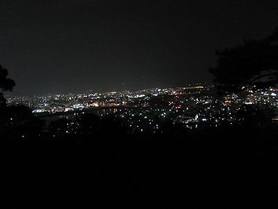 Canon IXY 30Sで撮影した夜景のサンプル2011.4/15