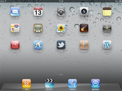 iPad2 MC770J wifiモデル 買いました2