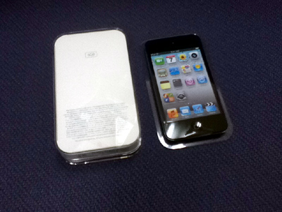 iPod touch 第4世代 8GBを購入