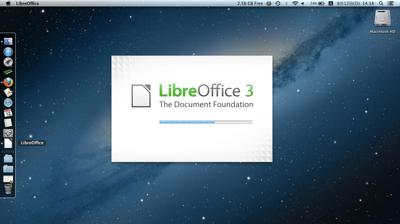Mountain Lion と LibreOffice 画像1
