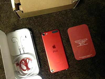 iPod touch 5th Apple限定カラー レッド