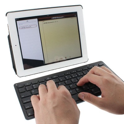 上海問屋 気になるiPad用のBluetooth接続 キーボード 2012.12/23