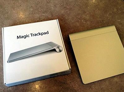 Magic Trackpad 開封