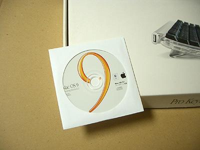 Mac OS 9.1 アップデートCDの画像