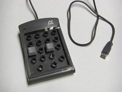 USB 自作 パッド1